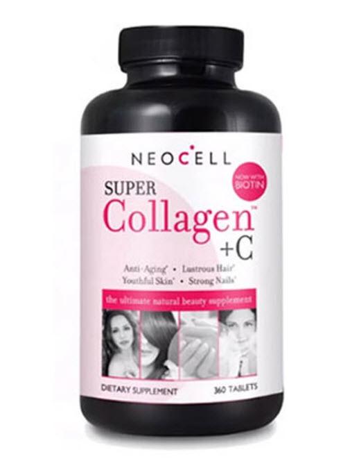 NeoCell Super Collagen+C with Biotin 360 Tablets นีโอเชล ซุปเปอร์คอลลาเจน พลัสซี ผสม ไบโอติน